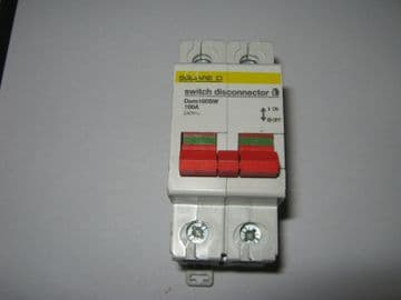 SQUARE D DOM100SW 100A SWITCH DISCONNECTOR.