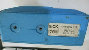 USED SICK DME3000-111 / 1 013 110 LASER DISTANCE MEASURING DEVICE.