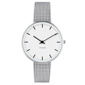 Arne Jacobsen City Hall Watch Small 34mm with Mesh Strap 53201-1608