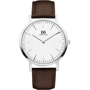 Danish Design London Brown Silver Gents Watch IQ12Q1235