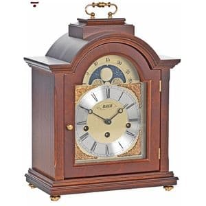 Billib Linton Mantel Clock in Walnut Finish