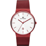 Danish Design Stainless Steel TAGE Collection Red Large Gents Watch IQ74Q971