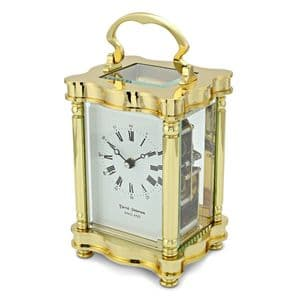David Peterson Y/DP/DC/SK Doucine 8 Day Carriage Clock with Bell Strike