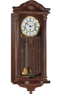 Hermle Fulham Westminster Chime Mahogany Wall Clock 70509-070341