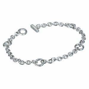 Hot Diamonds Sterling Silver Charm Bracelet  DL061
