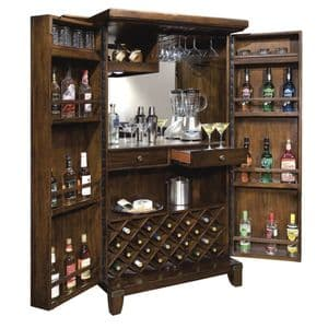 Howard Miller 695-122 Rogue Valley Wine and Bar Cabinet