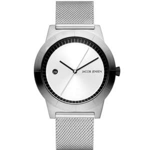 Jacob Jensen 142 Gents Stainless Steel Mesh Strap Watch JJ142