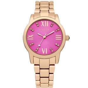Lipsy London LP257 Rose Gold and Pink Ladies Watch