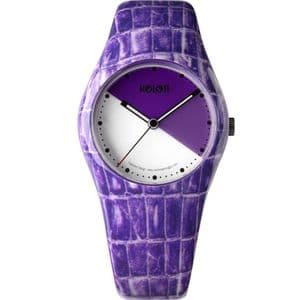 Noon Copenhagen 01053 Ladies Watch with Purple Dial and Strap 01-053