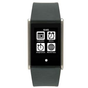 Phosphor Touch Time Watch with Black Silicone Strap TT003