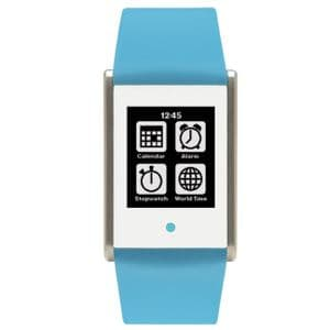 Phosphor Touch Time Watch with Blue Silicone Strap TT005
