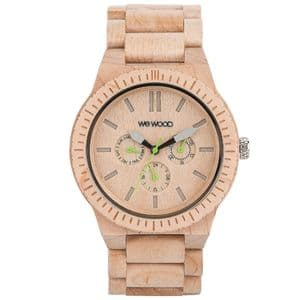 WeWood Kappa Beige Chronograph Watch